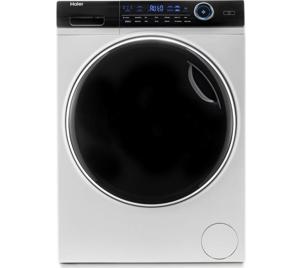 HAIER i-Pro Series 7 HW100-B14979 10 kg 1400 Spin Washing Machine - White, White