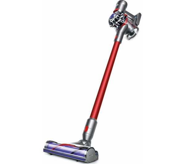 DYSON Total Clean V7 Cordless Vacuum Cleaner - Red, Red
