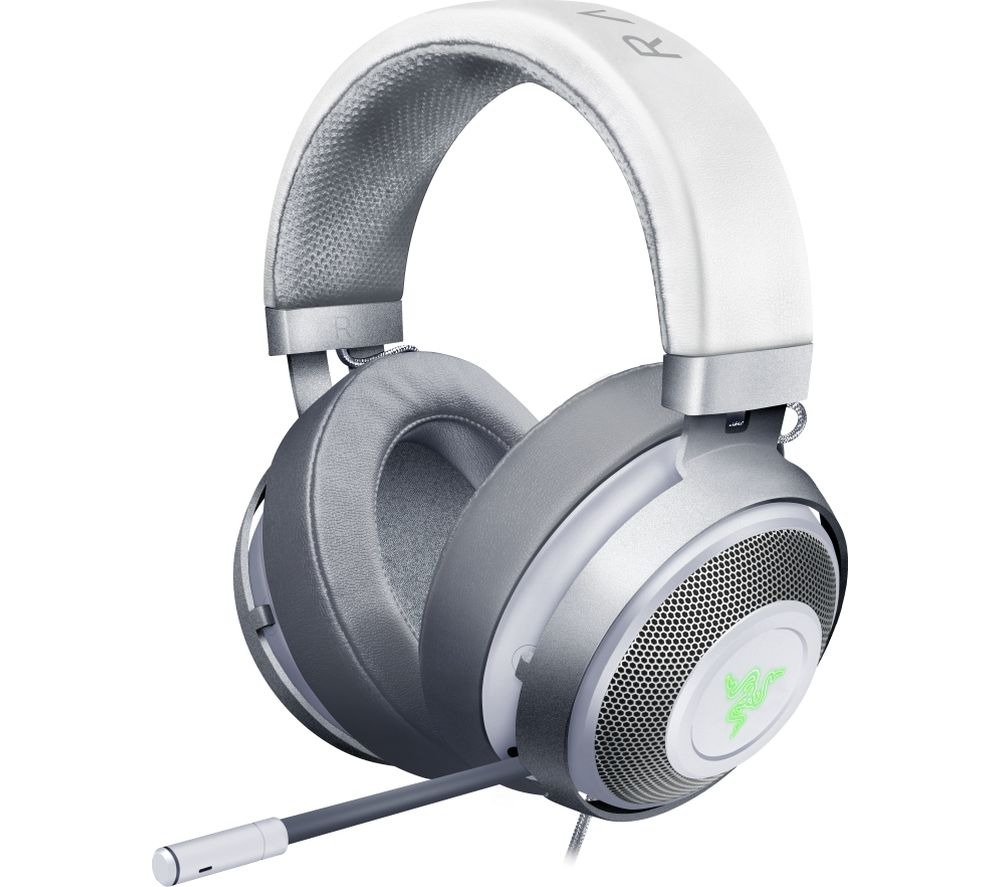 RAZER Kraken V2 7.1 Gaming Headset - Mercury White, White