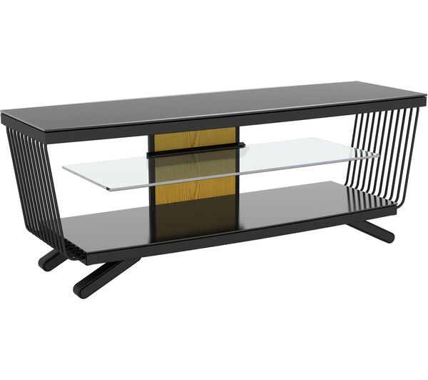 AVF Flow 1250 TV Stand - Black, Black