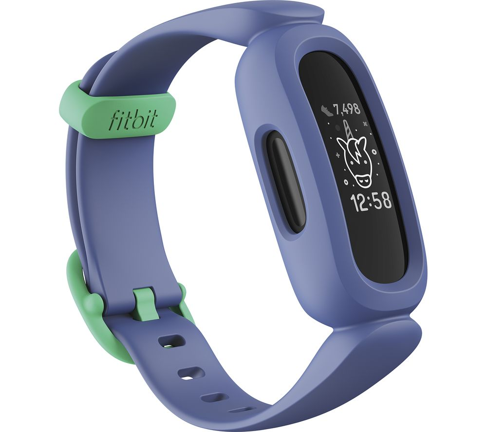 FITBIT ACE 3 Kid's Fitness Tracker - Blue & Green, Universal, Blue