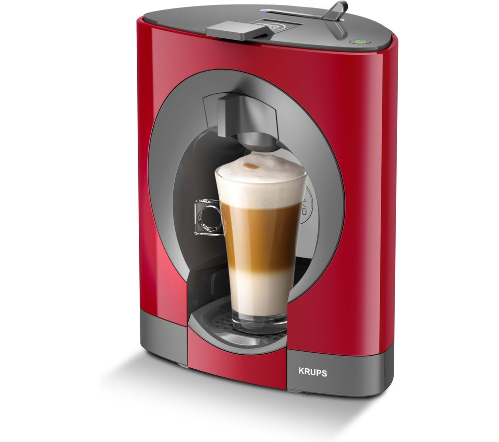 DOLCE GUSTO by Krups Oblo KP110540 Coffee Machine - Red, Red