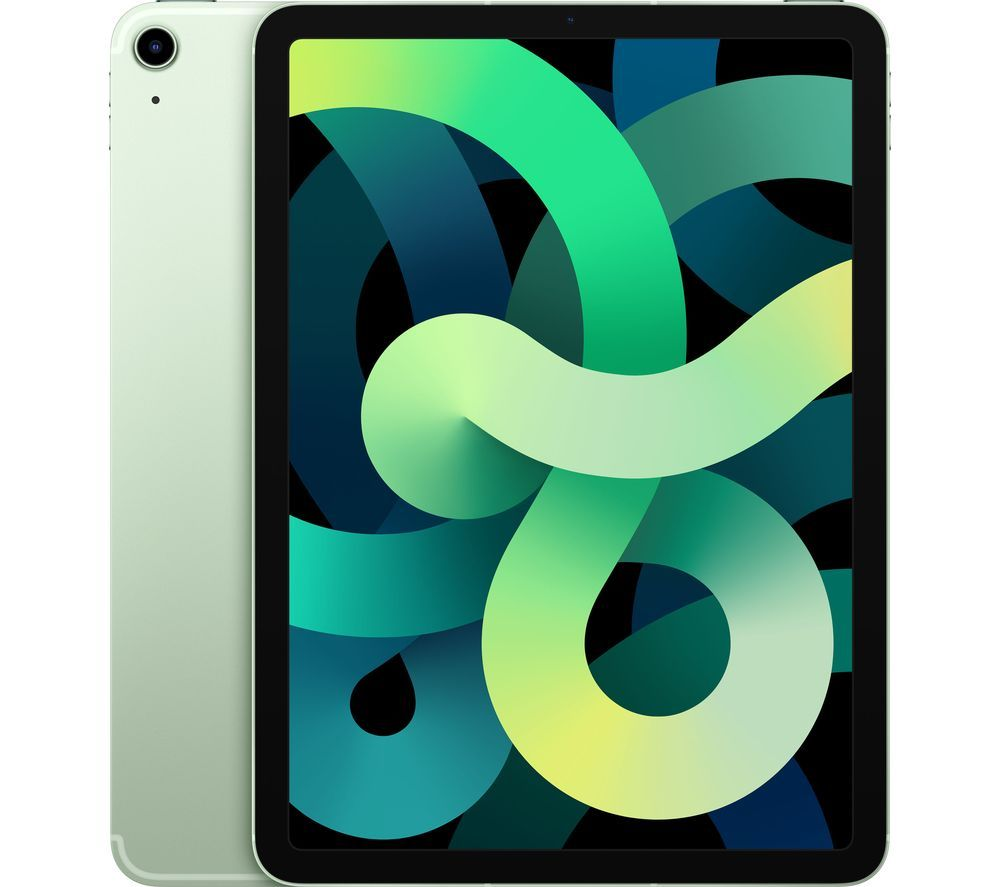 "APPLE 10.9"" iPad Air Cellular (2020) - 256 GB, Green, Green"