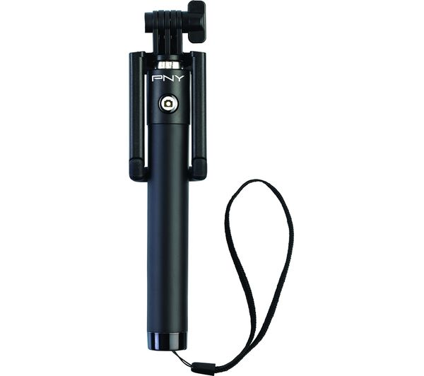 PNY BSS101 Wireless Selfie Stick - Black, Black