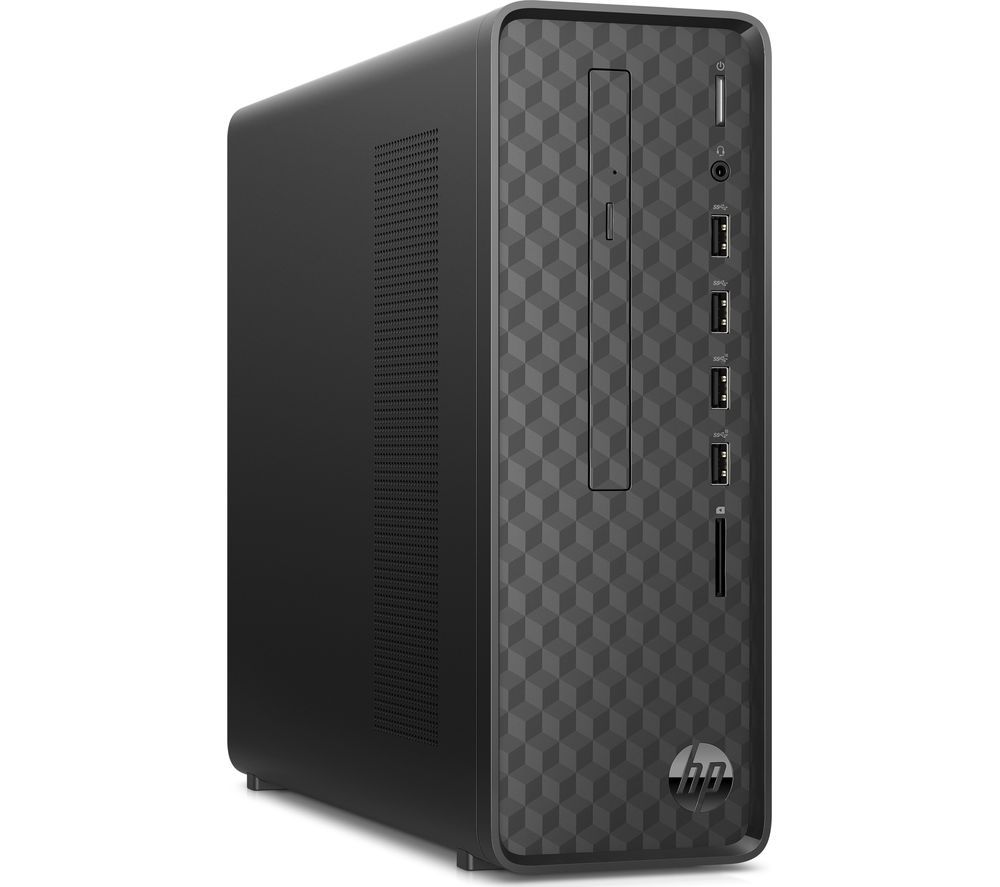 HP S01-aF0004na Desktop PC - Intel® Celeron, 1 TB HDD, Black, Black