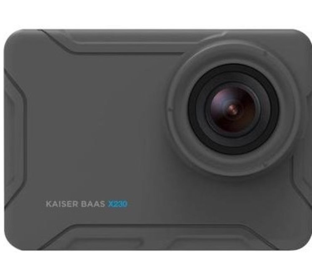 KAISER BAAS X230 Action Camera - Black, Black