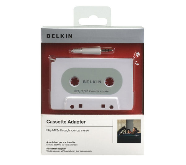 BELKIN F8V366-APL Cassette Adapter for iPod - 1.2m