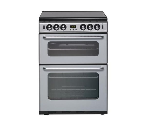NEW WORLD 600TSIDLM Gas Cooker - Silver, Silver