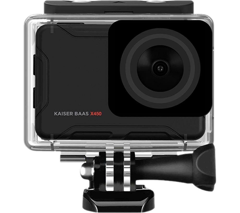 KAISER BAAS X450 4K Ultra HD Action Camera - Black, Black