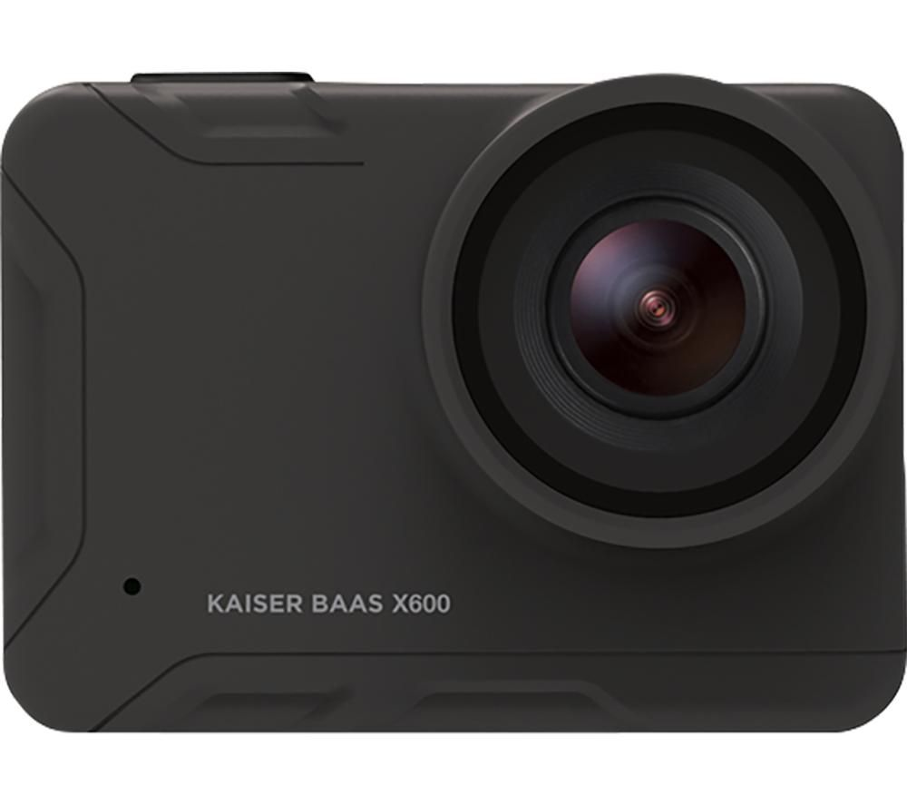 KAISER BAAS X600 4K Ultra HD Action Camera - Black, Black