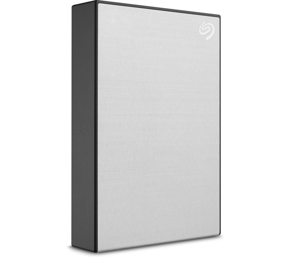 SEAGATE One Touch Portable Hard Drive - 2 TB, Silver, Silver