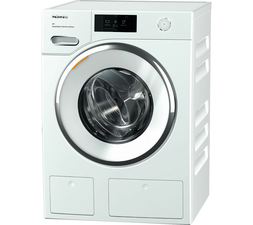 Miele WWR 860 WiFi-enabled 9 kg 1600 Spin Washing Machine - White, White