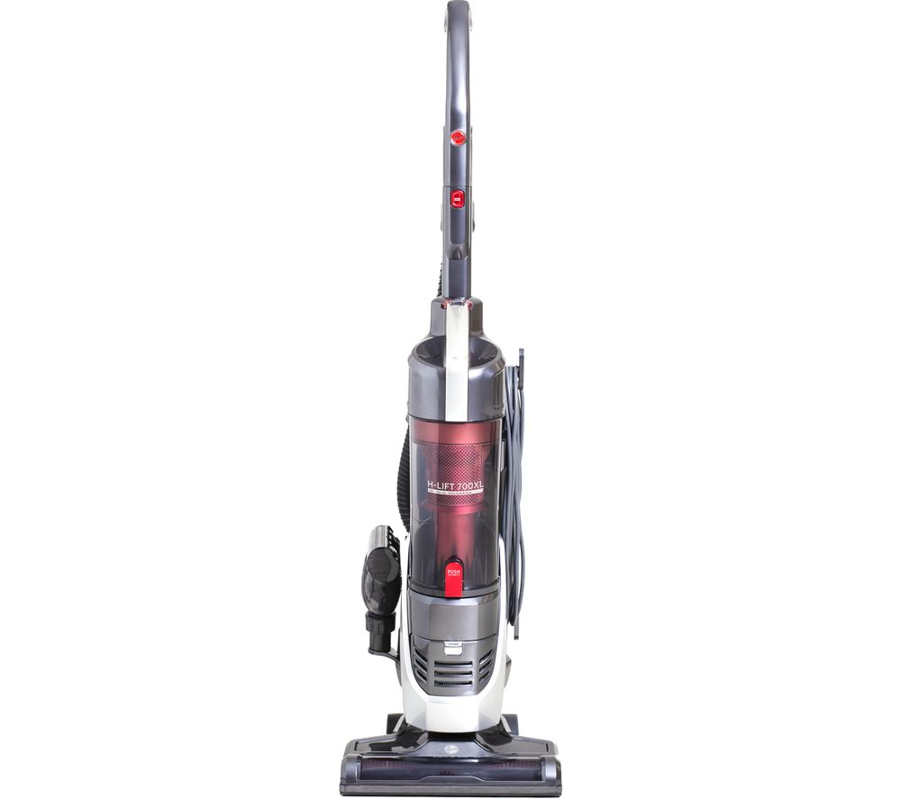 HOOVER H-LIFT 700 Pets XL Upright Bagless Vacuum Cleaner - Red, Red