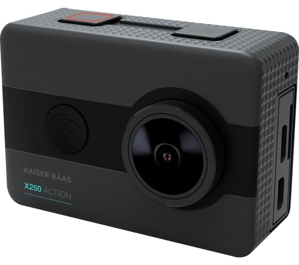 KAISER BAAS X250 1080p Action Camera - Black, Black