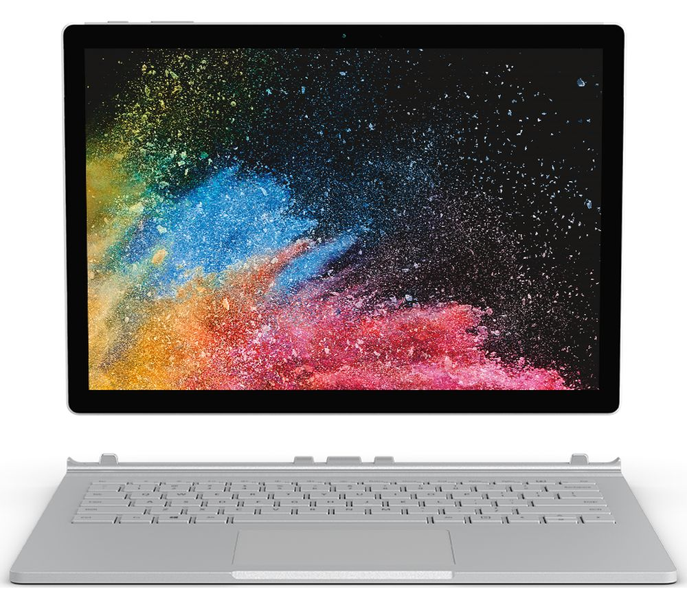 "MICROSOFT Surface Book 2 13.5"" Intel®� Core™� i7 - 1 TB SSD, Silver, Silver"