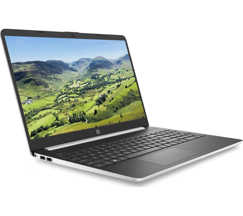 "HP 15s-fq1505sa 15.6"" Laptop - Intel® Core™ i5, 256 GB, Silver, Silver"