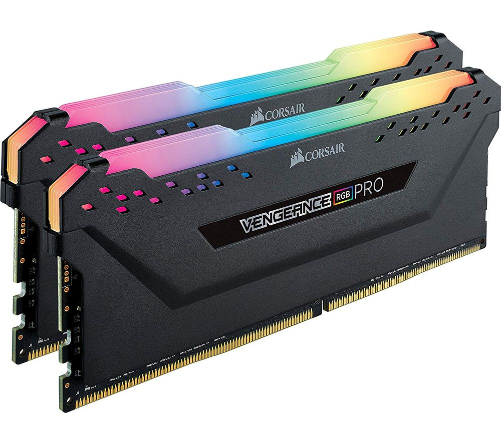 CORSAIR Vengeance RGB Pro DDR4 DRAM 3000 MHz PC RAM - 8 GB x 2