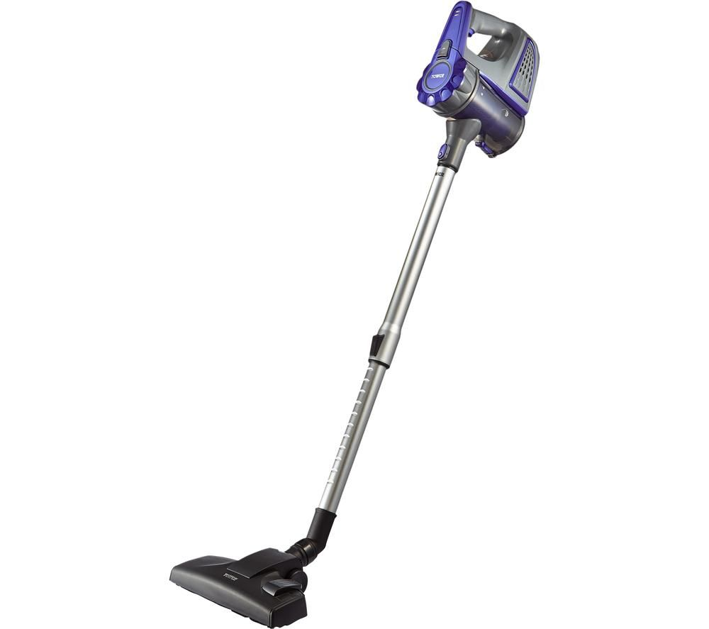 TOWER T113000 Cordless Vacuum Cleaner - Silver & Blue, Silver