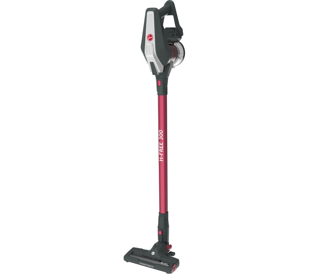 HOOVER H-FREE 300 HF322HM Cordless Vacuum Cleaner - Grey & Magenta, Grey