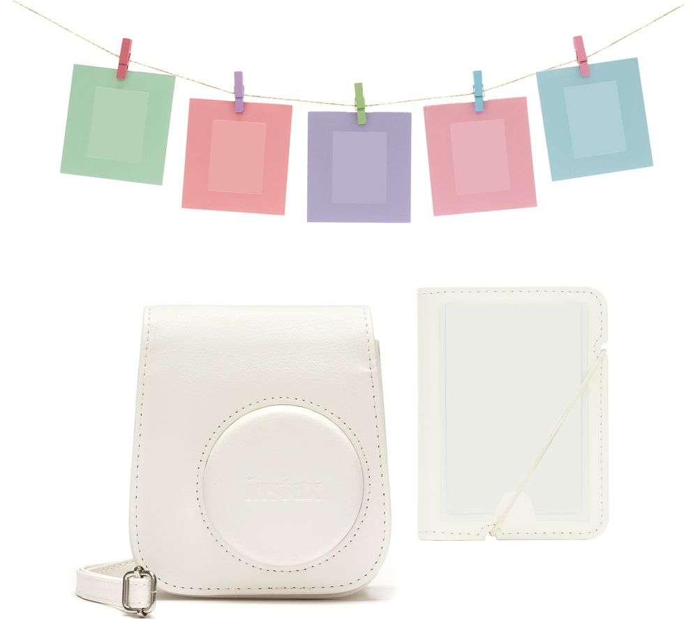 INSTAX Mini 11 Accessory Kit - White, White