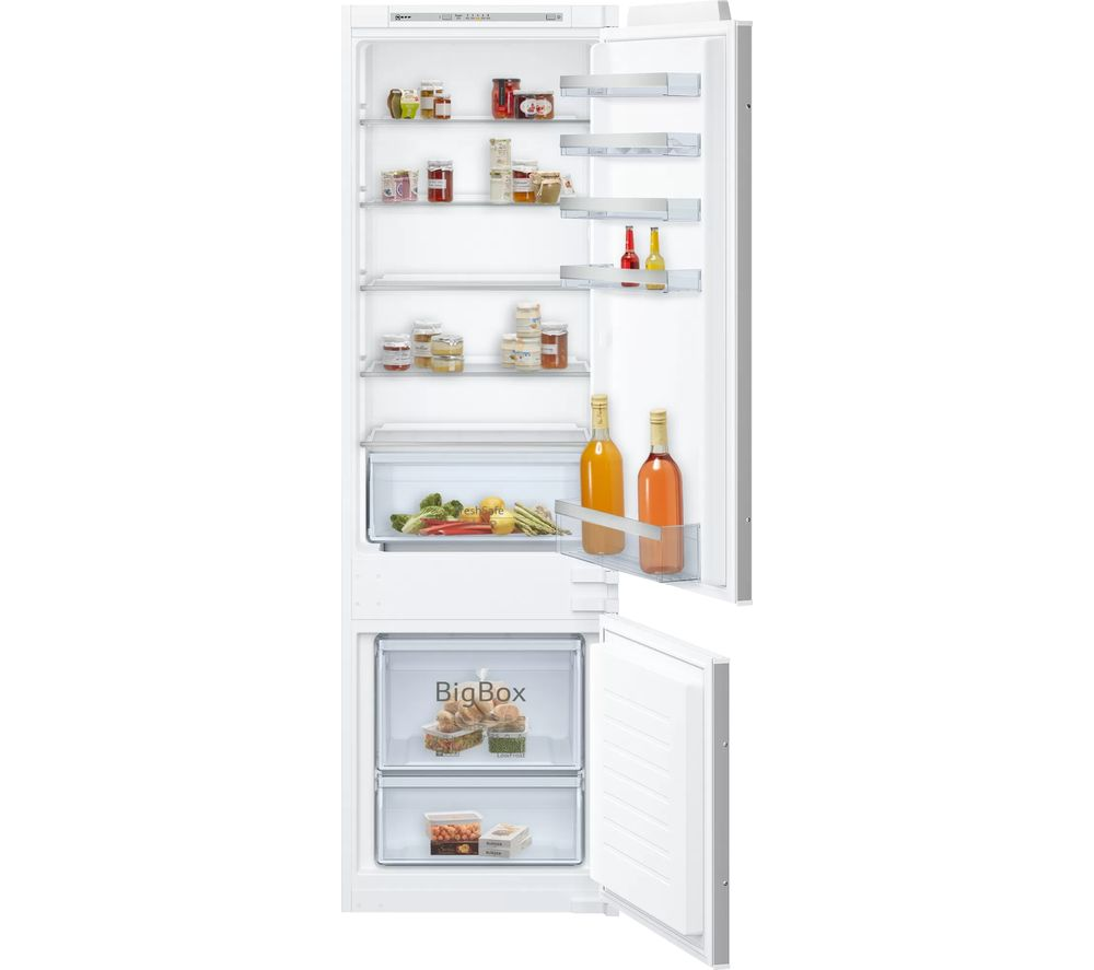 NEFF N50 KI5872SF0G 70/30 Integrated Fridge Freezer - Sliding Hinge