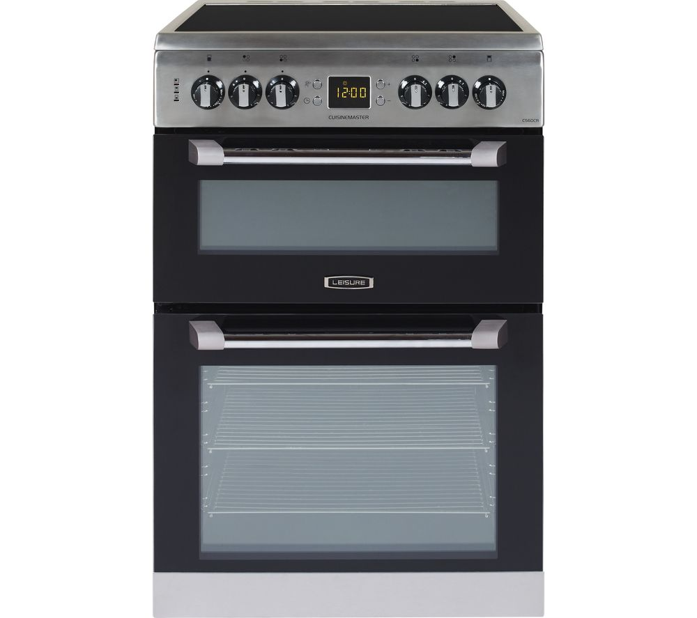 LEISURE CS60CRX 60 cm Electric Ceramic Cooker - Stainless Steel, Stainless Steel