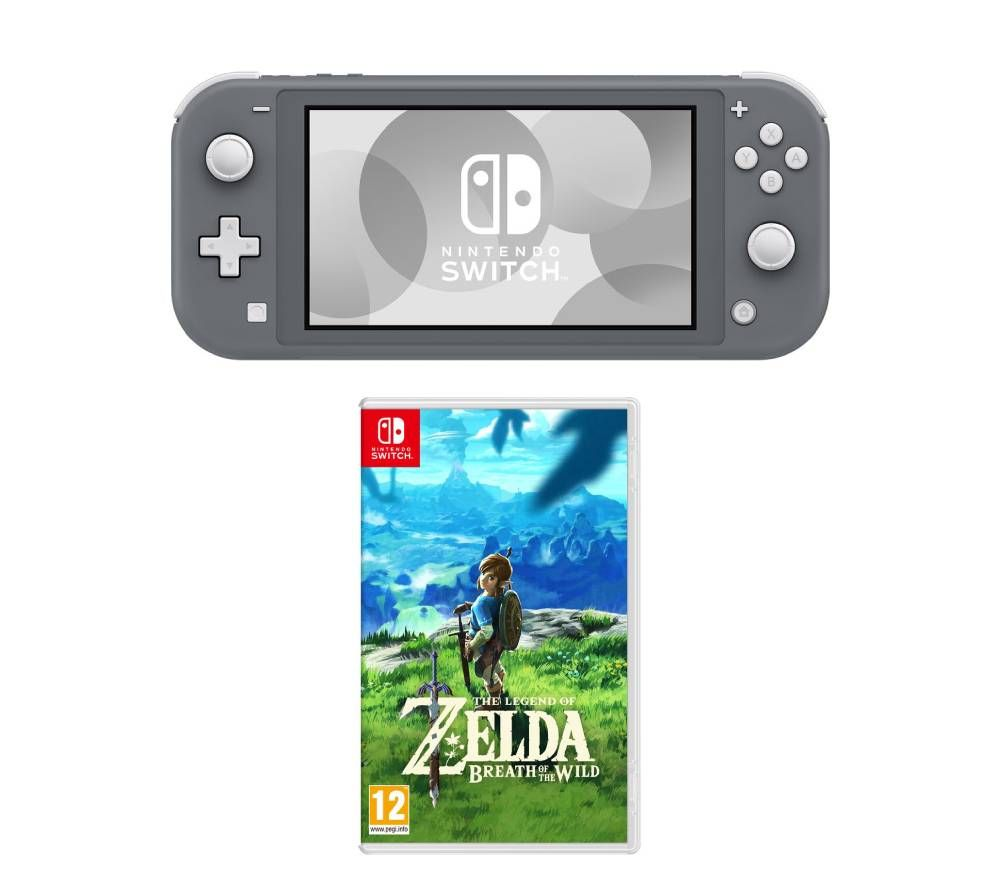 Nintendo Switch Lite & The Legend of Zelda Breath of the Wild Bundle