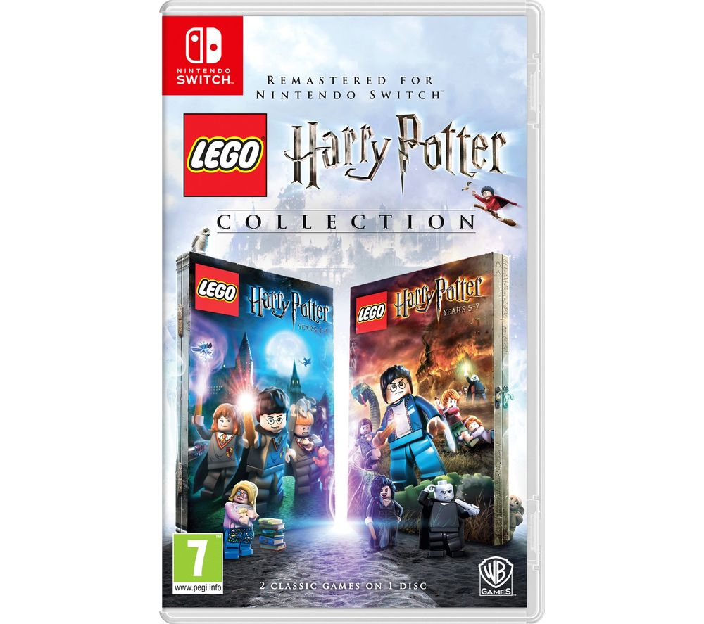 NINTENDO SWITCH LEGO Harry Potter Years 1 - 7 Collection