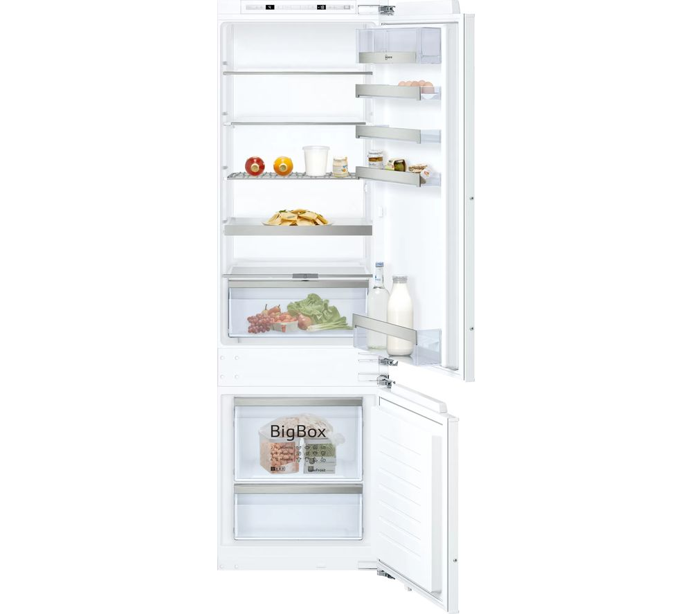 NEFF KI6873FE0G 70/30 Integrated Fridge Freezer - Fixed Hinge