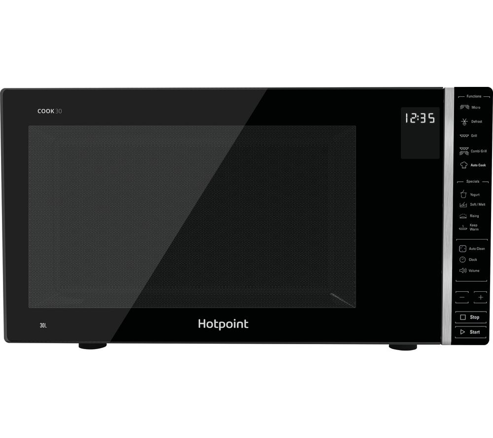HOTPOINT MWH 303 B Microwave with Grill - Black, Black