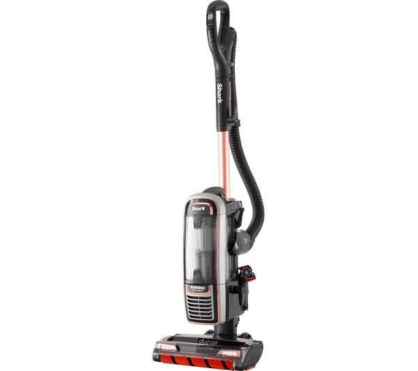 Shark DuoClean Powered Lift-Away TruePet AX910UKT Upright Bagless Vacuum Cleaner - Rose Gold & Grey, Gold