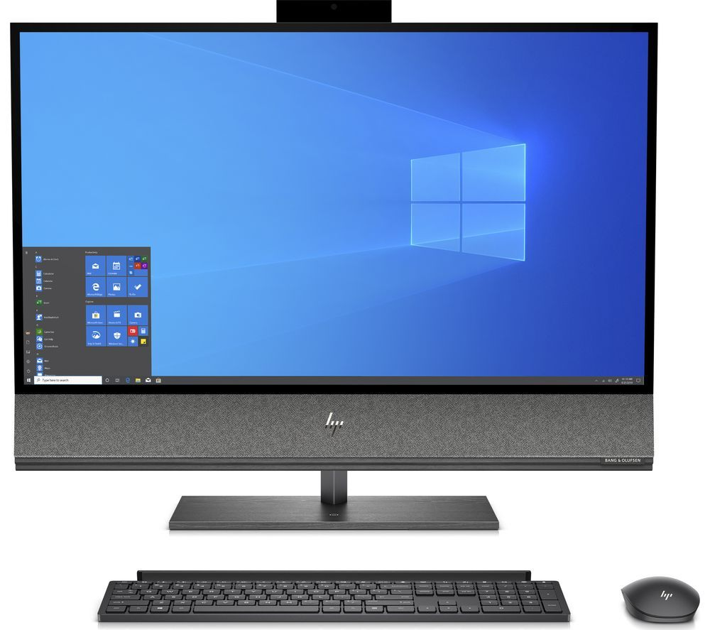 "HP 32-a0011na 31.5"" All-in-One PC - Intel® Core™ i7+, 1 TB HDD & 512 GB SSD, Black, Black"