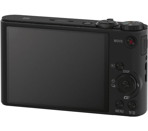 SONY Cyber-shot DSC-WX350B Superzoom Compact Camera - Black, Black