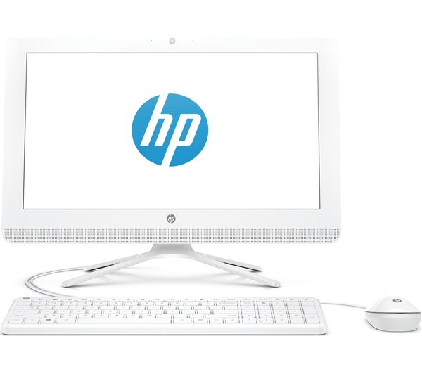 "HP 20-c402na 19.5"" Intel®? Celeron All-in-One PC - 1 TB HDD, White, White"