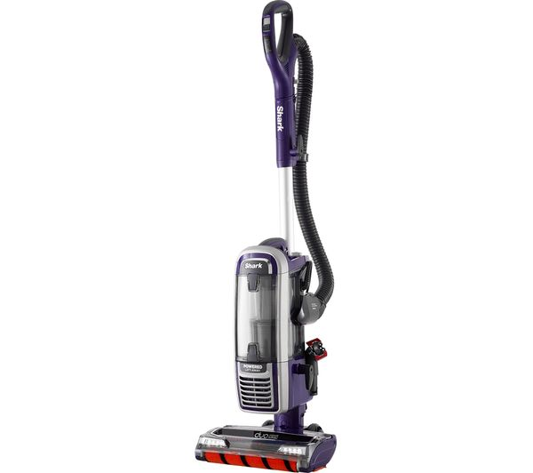 Shark DuoClean Powered Lift-Away AX910UK Upright Bagless Vacuum Cleaner - Purple & Grey, Purple