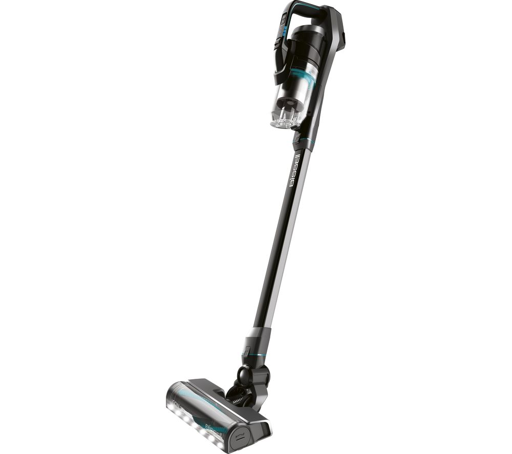 BISSELL Icon Cordless Vacuum Cleaner - Black & Blue, Black
