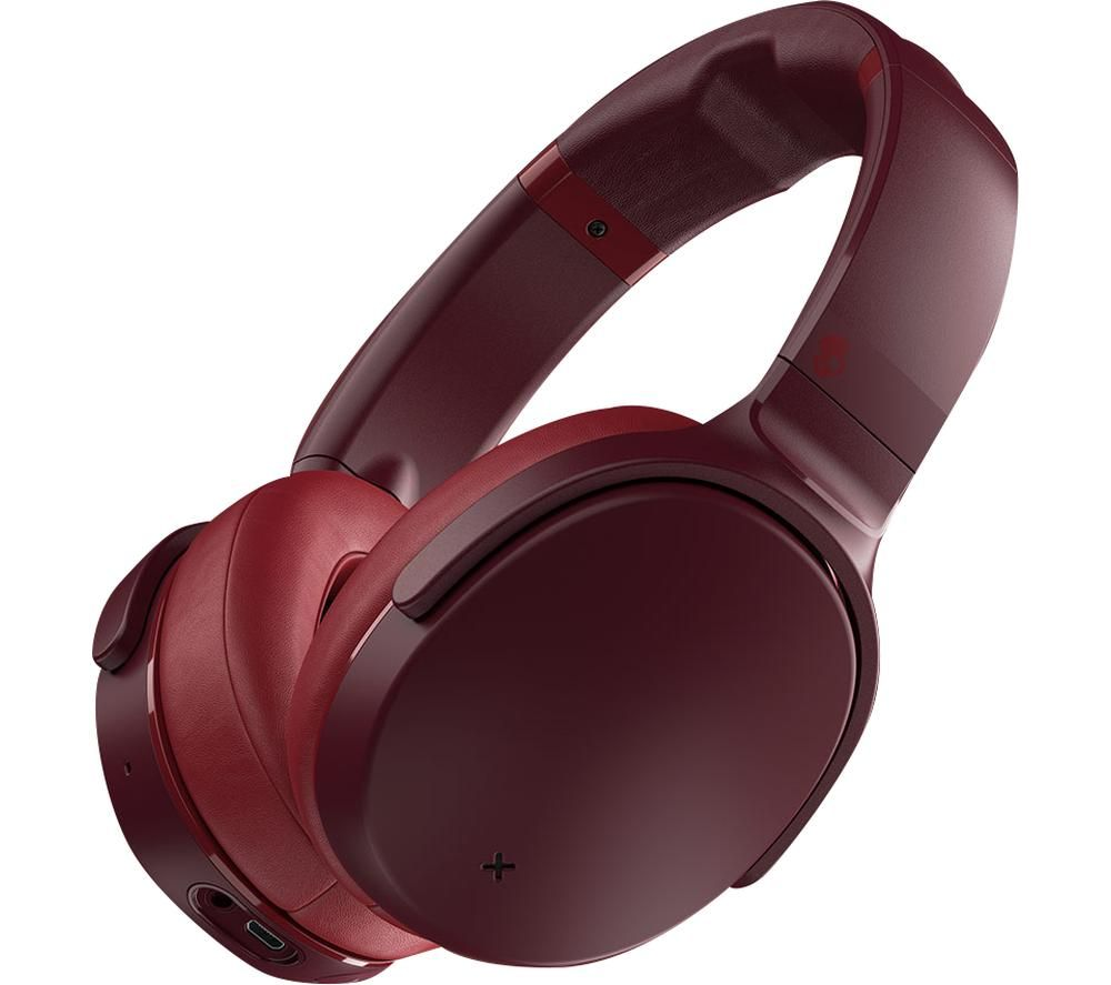 SKULLCANDY Venue S6HCW-M685 Wireless Bluetooth Noise-Cancelling Headphones - Red, Red