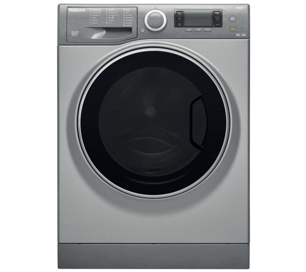 HOTPOINT Ultima S-Line RD 966 JGD UK N 9 kg Washer Dryer - Graphite, Graphite