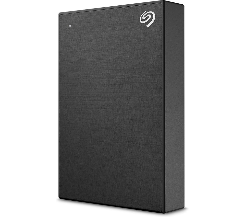 SEAGATE One Touch Portable Hard Drive - 5 TB, Black, Black