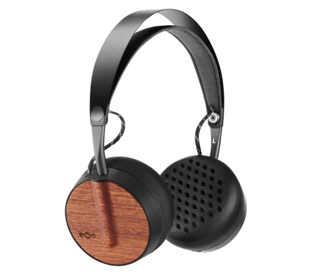 House Of Marley Buffalo Soldier Wireless Bluetooth Headphones - Signature Black, Black