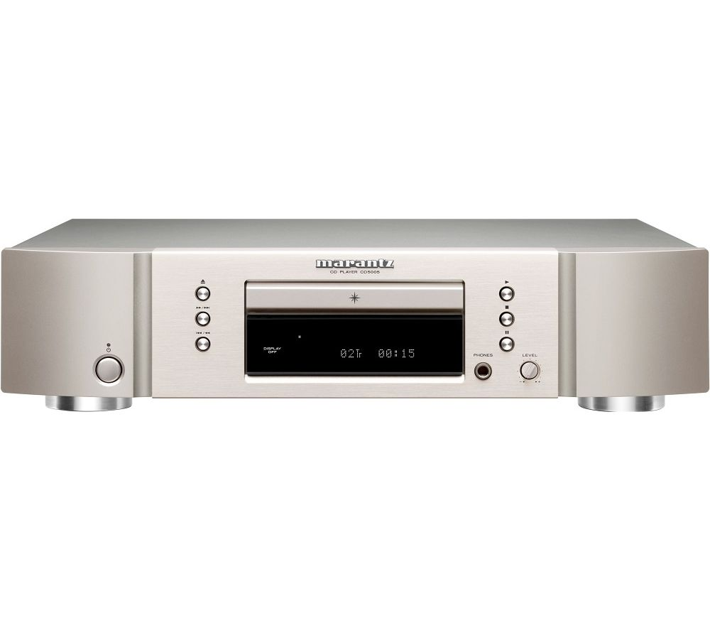 MARANTZ CD5005 CD Player - Silver, Silver