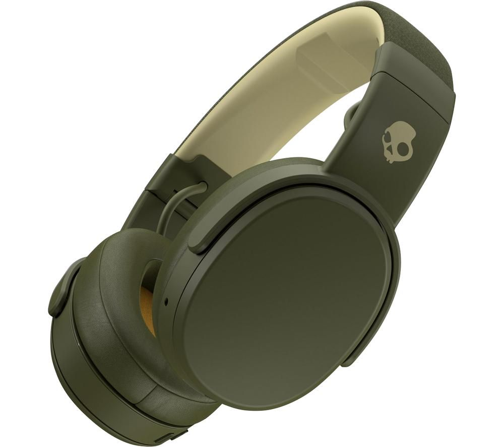SKULLCANDY Crusher S6CRW-M687 Wireless Bluetooth Headphones - Elevated Olive, Olive