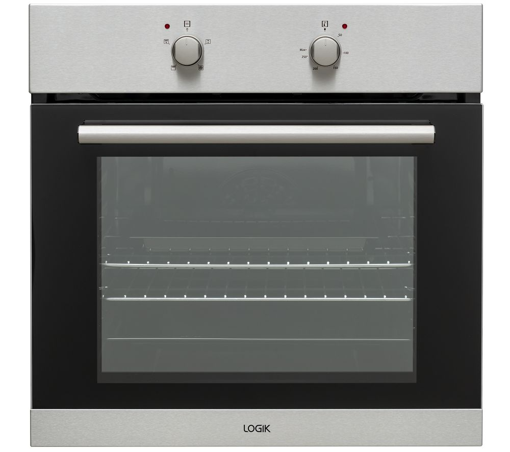 LOGIK LBFANX20 Electric Oven - Stainless Steel, Stainless Steel