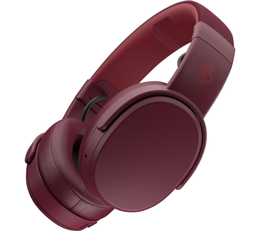 SKULLCANDY Crusher S6CRW-M685 Wireless Bluetooth Headphones - Deep Red, Red