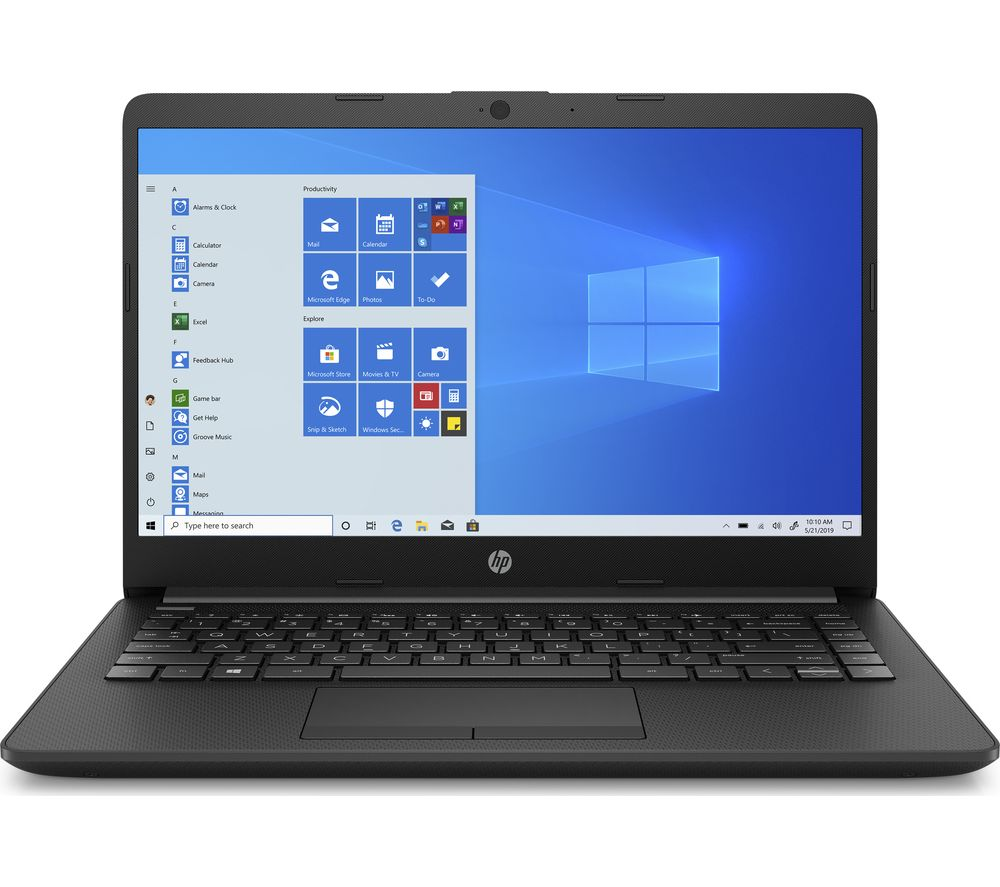 "HP 14-cf2517sa 14"" Laptop - Intel®Pentium™ Gold, 128 GB SSD, Black, Gold"