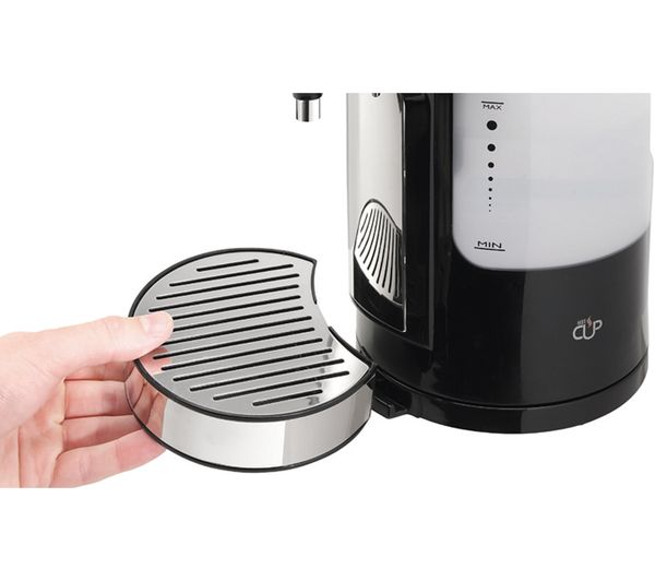 BREVILLE Hot Cup VKJ318 Five-cup Hot Water Dispenser - Black, Black