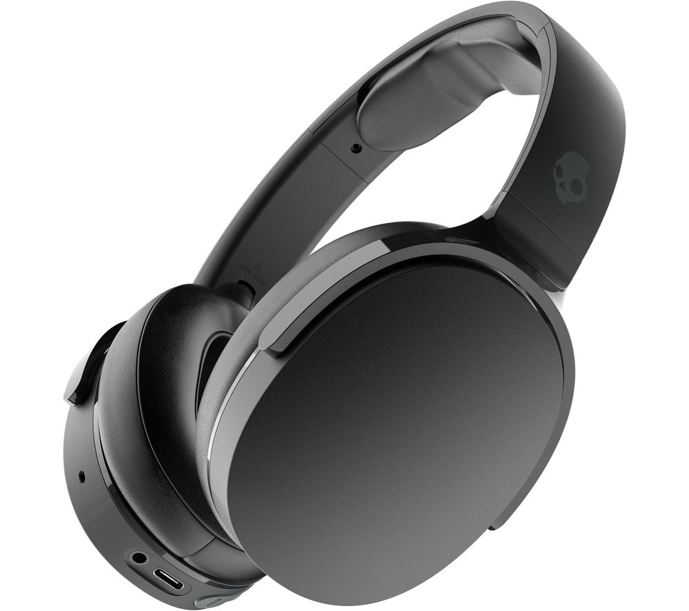 SKULLCANDY Hesh Evo Wireless Bluetooth Headphones - True Black, Black