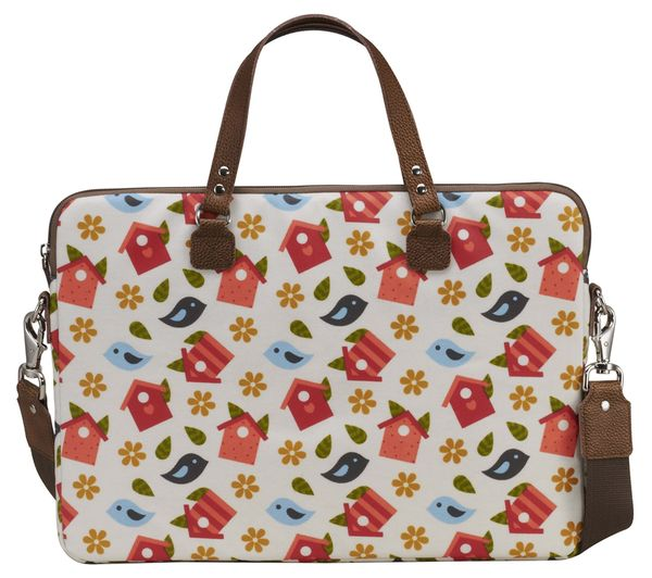 "GOJI GFLB13 16"" Laptop Bag - Birdhouse"