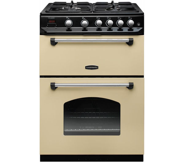 RANGEMASTER Classic 60 Gas Cooker, Cream
