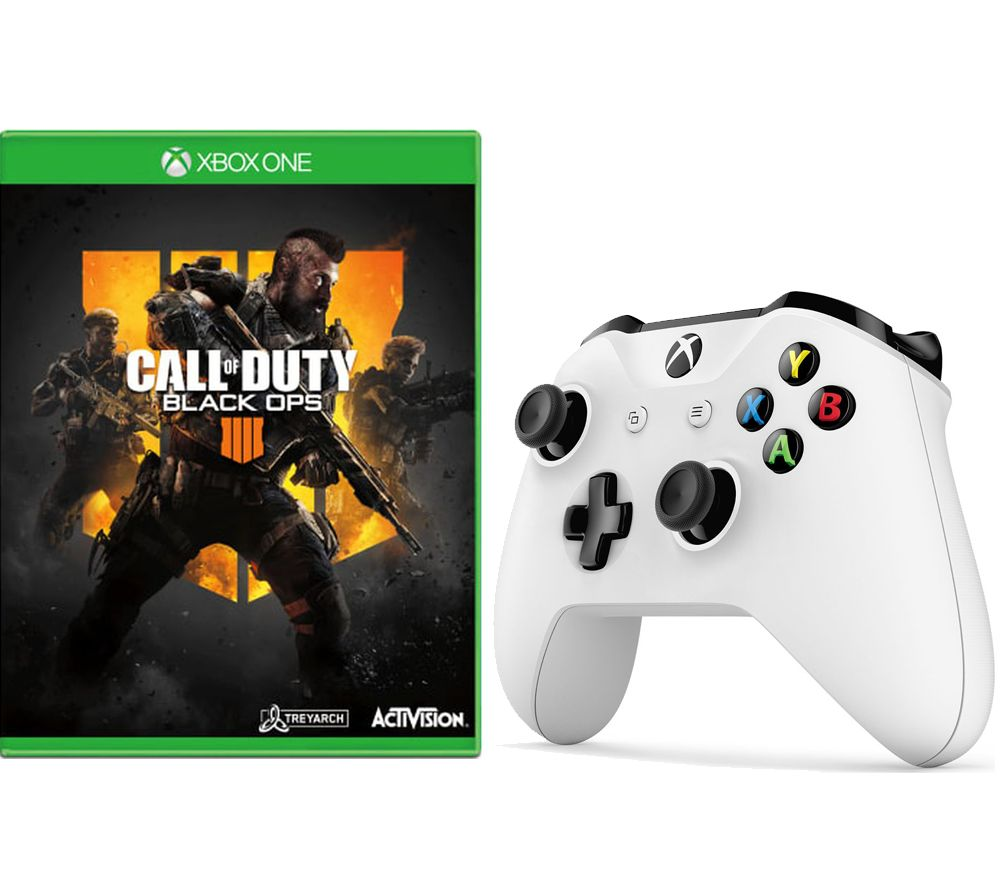 XBOX ONE Call of Duty Black Ops 4 & Wireless Controller Bundle, Black